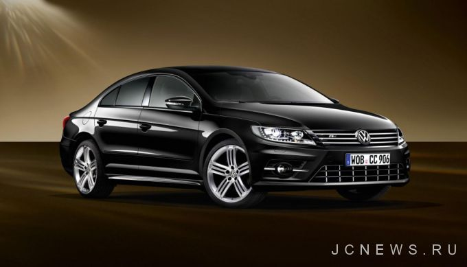 Volkswagen представил CC Dynamic Black